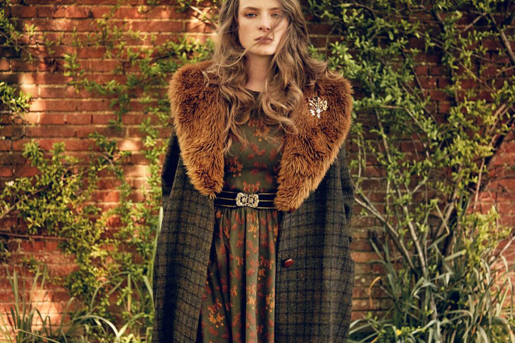 RINGO DRESS  squirrel green  SHERWOOD COAT